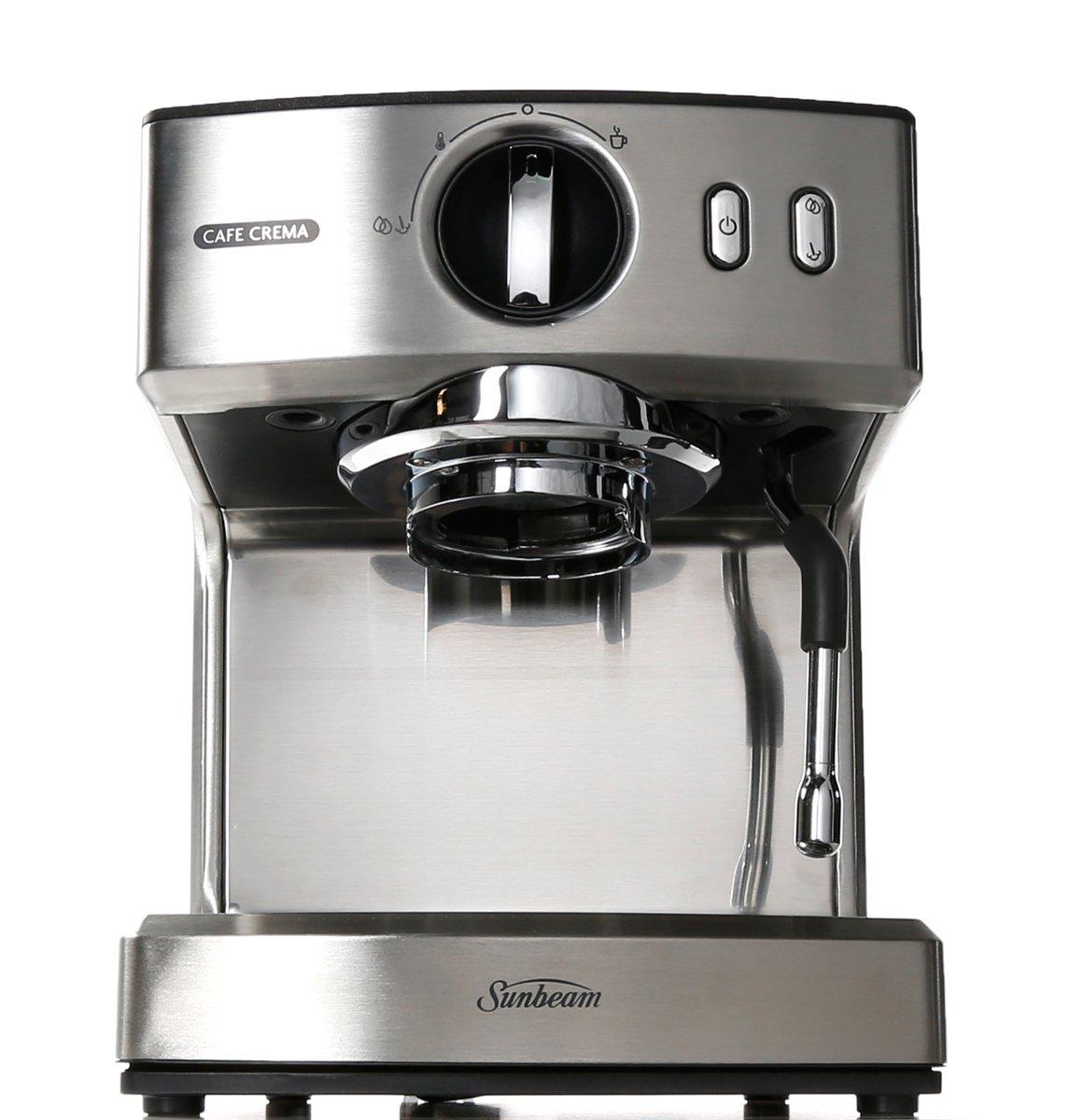 Sunbeam Cafe Crema Ii Coffee Machine Em4820 Winning Commercial